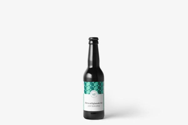 Birra Artigianale Bio Severino Becagli con Spirulina