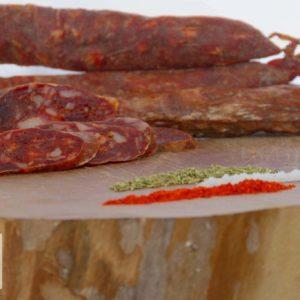 Salsiccia Rossa con Sciuscillone di Teggiano (Slow Food)