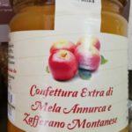 Confettura Extra di Mela Annurca e Zafferano Montanese