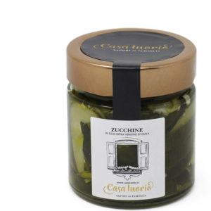 zucchine in olio evo casa iuorio